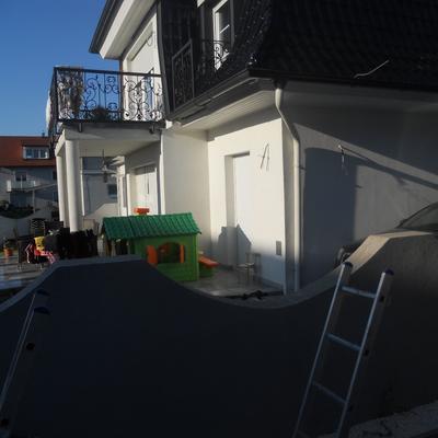 1220 Wien, Lieblgasse, Hausbau